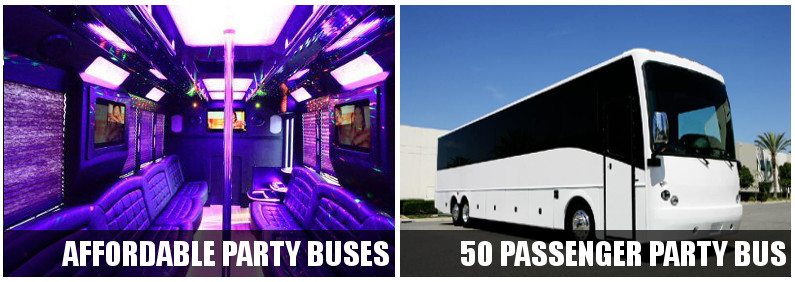 party buses raleigh