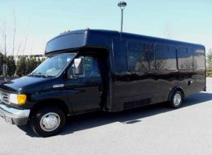 18 passenger party bus Zebulon