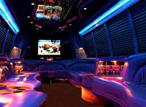 18 passenger party bus rental Bethesda