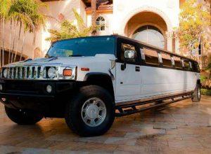 Hummer limo Cary