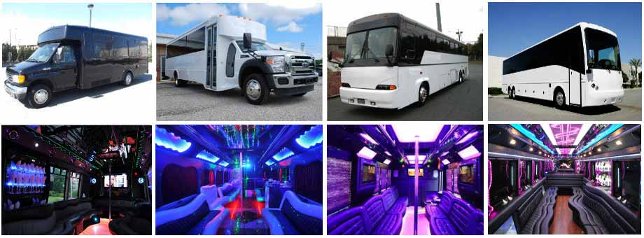 Raleigh Party buses Charter
