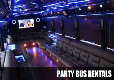 Wedding Party Bus in Raleigh