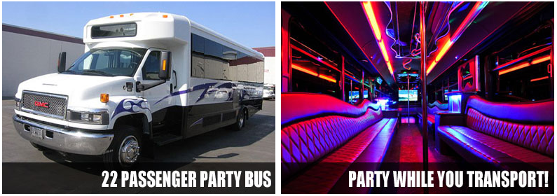 limo party bus raleigh