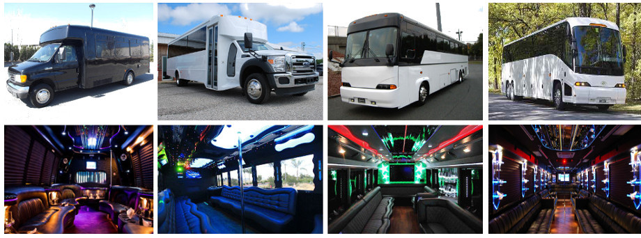 party bus rental raleigh